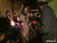 Girl Next Store Shocked And Bound In Public,  Ass Fucked,  Humilia