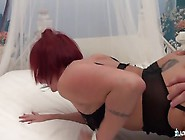 Redheaded Mom Gets A Cock Up Her Tight Butt
