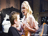 Big Breasted Blonde Milf Amber Jayne Fucked Danny D For Brazzers