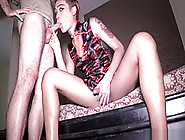 Ladyboy Miley Gives Blowjob