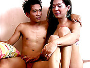 Hot Ladyboy Has A Great Time While Being Ravished By A Fellow