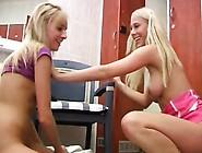 Ebony Anal Dildo Hd Young Lesbians Having Fun In Locker Room