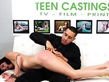 Petite Teen Slut Gets Hard Spanking