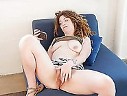 Sensual Babe Is Masturbating And Not Being Able To Hold Back Fro