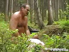 Man Rapes His Daughter In The Woods