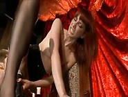 Kinky Mistress Playing With Her Slave