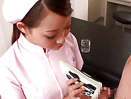 Cute Japanese Nurse In Uniform Is Doing Perfect Handjob