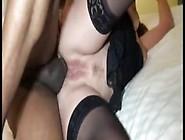Black Cock-Loving Amateur Milf Ir Assfucked