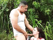 Big Red Brutal Dildo Helpless Teen Brittany Shae Is Living T