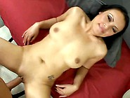 Sexy Latina Gets Her Shaved Pussy Turned Into A Creampie - Chris