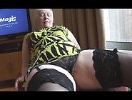 Big Ass Great Granny Show Hairy Pussy
