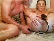 Diamond Webcam Slut Gets Tortured With Pussy Pump,  Fist & Giant