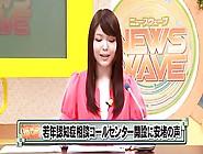 Japanese Tv Announcer Cutie Bukkake 420