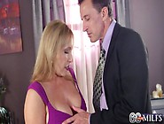 Luna Azul - 60 Year Old Milf Wakes Up The Neighbours