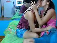 Sexy Webcam Lesbians Makeout - More Videos At Dslwebcam. Com