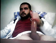 Straight Arab Hairy Bear With Big Cock On Cam