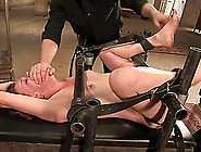 Sassy Babe Lilla Katt Gets Nailed In The Bondage Device