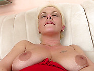 Slutty Blonde Milf Delivers An Amazing Solo Performance