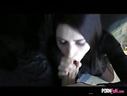 Hot Pale Babe Gives A Great Pov Blowjob