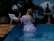 Blonde Latina Having Sex By The Poolside