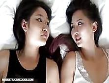 Japanese Teen's First Lesbian Sex