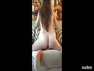 Amateur Lady Fucks Her Dildo And Tastes Her Snatch Juice