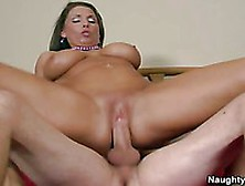 Busty Milf Stacie Starr Is Sucking The Hard Cock So Wildly That