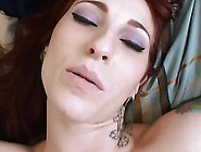 Hot Redhead Girlfriend Tries Anal Sex For The First Time