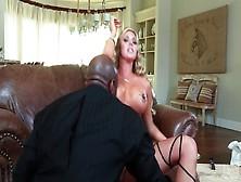 Blonde Samantha Saint With Big Breasts