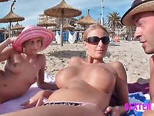 Nasty Ladies Are Having A Vacation At Mallorca And Doing Some Ve