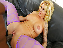Ryan Conner Has Her Milf Crack Filled With Black Meat