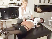 Maid Spanked Until She Can Sit