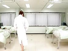 Busty Jap Nurse Gets Boned And Sprayed