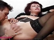 Mom Sucks And Is Fucked Vaginally And Anally By A Boy