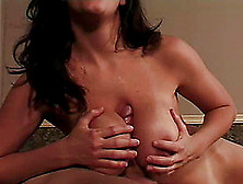 Angelica Sin's Nice Tits Covered In A Guy's Sticky Jizz