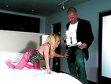 Jesse Jane Ends Up Face Down On The Bed With A Dick Deep Inside