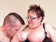 Fat Bbw Granny Mature Chubby Fucking Hard With Youngster Guy Sam