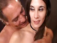 Blackmailed Bitch Electrocuted And Fucked By
