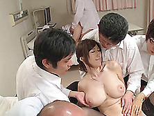 Salacious Julia Gets Her Big Juicy Boobs Squeezed And Fucked In