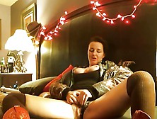 First Webcam Wife With A Stranger Hubby Masturbates Joins
