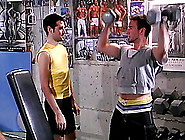 Three Hot Gay Guys Fucking In The Gym After A Workout