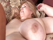 Curvy Sharon Spread Wide Open And Fisted