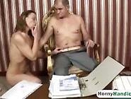 Brunette Babe Takes Amputee Schlong In Pussy