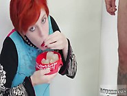Rough Anal Creampie Compilation And Redhead Likes Brutal Cummie,