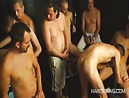Super Skinny Guy Participating In An Awesome Group Fuck