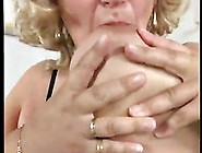 German Big Beautiful Woman Granny Masturbates Herself Loudly