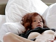 Redhead Teen Mia Sollis Stripped Off Her Nudies And Exposed Her