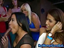 Hot Cfnm Sluts Stroke Rods At Party