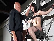 Feet Whipping And Bastinado Of Tied Honesty Cabellero In Foot Sp
