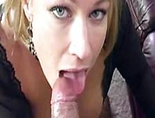 Stripclub Hottie Mellanie Monroe Hot Oral Action For A Sticky Cu